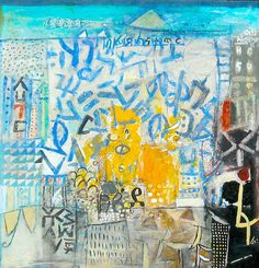 "palmofmyhands:    Ethiopian artist Wosene Worke Kosrof, ""Everest"""