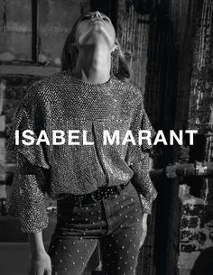 Anna Ewers by Inez & Vinoodh for Isabel Marant F/W 2017
