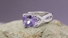 Platinum Spinel Ring by David Klass Jewelry Solitaire Rings, Heart Ring, David, Silver Rings, Jewelry, Jewlery, Jewerly, Schmuck, Heart Rings