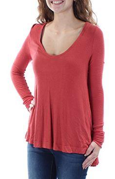 Abollria Women s Long Sleeve Solid Lightweight Soft Knit Mock ... 66c123b69