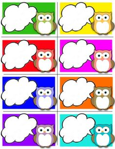 Étiquettes prénoms hibou Owl Theme Classroom, Classroom Birthday, Classroom Rules, Preschool Classroom, Preschool Activities, Owl Crafts, Crafts For Kids, Paper Crafts, Class Decoration