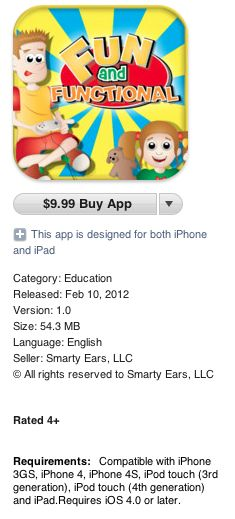 Fun and Functional - App Smarty Ears
