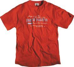 Tee-shirt allsize composé de 100 % Coton  Coloris très beau rouge cactus et imprimé Manches courtes  Renfort au col rond Allsize vous propose ce superbe tee-shirt allsize rouge cactus dans les tailles L au 8 XL