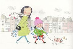 walking the dog, Ailie Busby