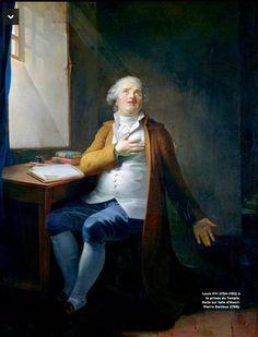 Louis XVI à la Prison du Temple. (Henri-Pierre Danloux) (1795)