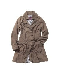 Joe Browns Our Favourite Frilled Mac. I love this coat! $129.00 at www.simplybe.com