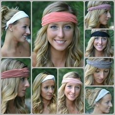Available Online Now and in our Normal, IL location Diy Baby Headbands, Diy Headband, Headband Hairstyles, Pretty Hairstyles, Types Of Bows, Just Girly Things, Fabric Flowers, Hair And Nails, Hair Bows