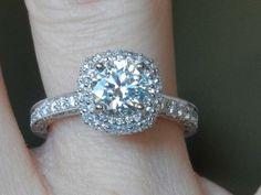 Kay Jewelers Engagement Rings From 1998 36 Cushion Cut Engagement Ring, Wedding Engagement, Wedding Day, Wedding Rings, Dream Wedding, Kay Jewelers Engagement Rings, Scott Kay, Diamond Design, Heart Ring