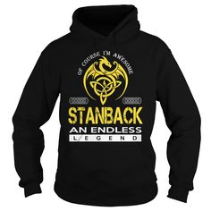 STANBACK An Endless Legend (Dragon) - Last Name, Surname T-Shirt