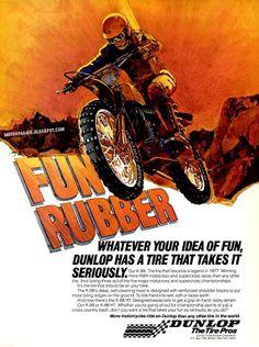 Racing Cafè: Vintage Brochures: Dunlop Tyres 1978 (Usa)