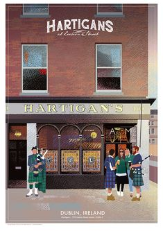 Hartigan's Pub in Dublin, Ireland. Paper Artist, Dublin Ireland, Irish, Irish People, Ireland, Irish Language