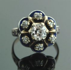 Antique Victorian Jewelry  Rose Gold Ring with by SITFineJewelry, $5,500.00