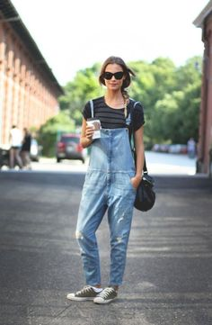 ad7cde4e9c4 48 Stylish Jumpsuit Outfit Ideas For Women. BirkenstockDenim DungareesKey  ...