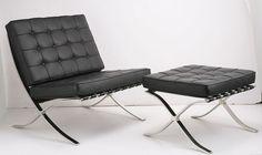 Bauhaus Klassiker: Barcelona Chair von Ludwig Mies van der Rohe
