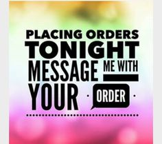 Last chance for WACKY WEDNESDAY SALE!!!  I'm putting in my last order of the month this evening!!   Inbox me for details