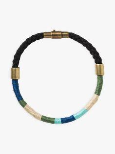 bracelet zari bleu | agnès b. Beaded Bracelets, Jewelry, Blue, Jewlery, Jewerly, Pearl Bracelets, Schmuck, Jewels, Jewelery