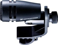 Sennheiser e604 Evolution Dynamic Cardioid Rack Tom and Snare Microphone - The dynamic e604 delivers condenser-like clarity on toms or snare, and handles SPL over 160 dB! A smart pivoting clip attaches directly to your drum's rim.
