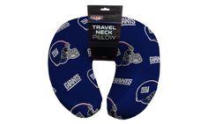 NFL 117 NY Giants Beaded Neck Pillow