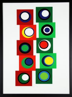 Genevieve Claisse, Composition, screenprint proposed by Fieldarts for sale on the art portal Amorosart Sculpture Art, Sculptures, Art Français, Geometric Circle, Pictures To Draw, Les Oeuvres, Screen Printing, Artsy, Fine Art