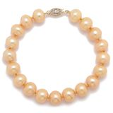 Pearl Lustre 14K Gold Freshwater Pearl with Fancy Clasp