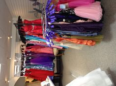 Pumpkins and Dragonflies Prom gowns