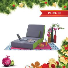 Plug-in style this Christmas with the super comfy Plugin sofa.