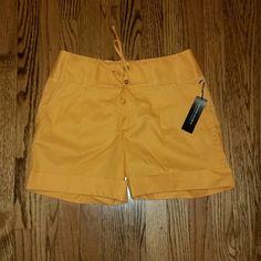 Banana Republic - Orange shorts - size 8 NWT - Banana Republic - Martin fit orange shorts. Size 8. These are high waisted. Banana Republic Shorts Bermudas