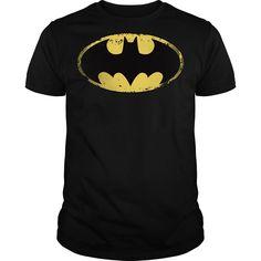 batman rugged logo  T Shirt, Hoodie, Sweatshirt