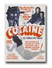 AZ14 Vintage 1950's Cocaine Thrill That Kills Anti Drugs Movie Poster RePrint A4