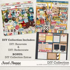 DIY: Collection by Kristin Cronin-Barrow & Shawna Clingerman