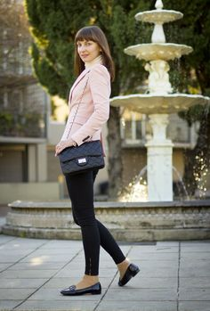 2c5b5fb26f5 Outfits with Pale Pink Blazers- 19 Ways to Wear pink Blazers Pink Blazer  Outfits