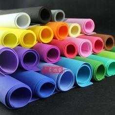 "Funky Foam Sheet Craft EVA Foam, 20""x40"" 50x100cm,Thk 2mm,Choice of Colours VC-2 | eBay"