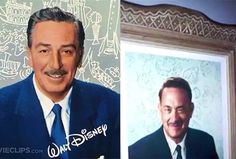 Actor Tom Hanks will be playing Disney in the upcoming film Saving Mr. Banks coming out in December 2013. It will be the first instance of an actor portraying Walt Disney in film.