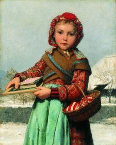 Artist Albert Samuel Anker  (1831 – 1910, Swiss)