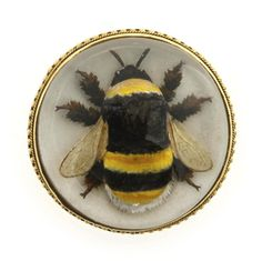 An Edwardian Essex Crystal Bee Brooch - Bentley & Skinner, £4,250.00