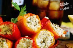 ¡¡Oído cocina!!: Mini pimientos rellenos de bechamel con bacalao