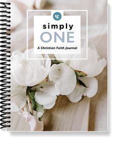simplyOne Christian Journal Faith Kit Christian Living, Christian Faith, Journal, Christianity, Christian Life, Journals