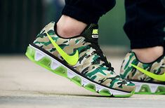 official photos c3452 0d987 New Arrival Unisex Nike Air Max Tailwind 8 Camo Voltage Green Volt Green