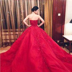 HG414 Wedding Dresses,Luxury Wedding Dress,Handmade Wedding Dress,Lace Wedding Dress,Ball Gown Weddi on Luulla