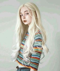 Blonde, pale, whits