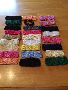 Wholesale 25 Handmade Headbands And 1 Hair Piece Lot 24 #Handmade