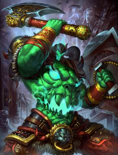 SMITE Xing tian by Brolo on DeviantArt