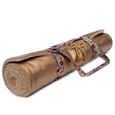 desiary.de - Holistic Silk Yoga Mat Gold2