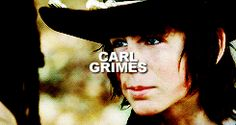 I feel so bad for Carl can't wait for the things he's gonna do for season 5 and OMG he is hot