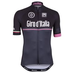 Santini Giro d'Italia 2015 Event Line Short Sleeve Jersey - Black Cycling Jerseys, Cycling Bikes, Cycling Outfit, Cycling Clothes, Bicycle Race, Bike Seat, Jersey Shirt, Sport Bikes, Sport Outfits