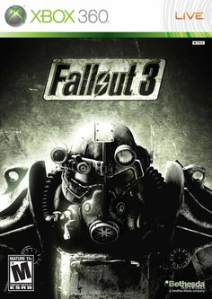 Fallout 3 is a Role Playing game developed by Bethesda Game Studios for the PC, Xbox 360 and PlayStation It was announced on Gameinformer in 2007 and released October 2008 for North America, October 2008 for Europe and December 2008 for Fallout 3 Xbox 360, Fallout Game, Play Fallout, Fallout Vault, Xbox 360 Games, Playstation Games, Bethesda Softworks, Mundo Dos Games, The Elder Scrolls