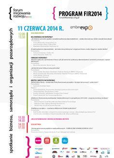 Zapraszamy do udziału w III edycji Forum Inicjowania Rozwoju – spotkaniu biznesu, samorządu  i organizacji pozarządowych, które odbędzie się 11.06.2014r., w AmberExpo w Gdańsku. Forum Inicjowania Rozwoju 2014 to wydarzenie niebanalne i wyjątkowe w swej konwencji.  To spotkanie dające przestrzeń dialogowi międzysektorowemu. Jednocześnie, inspirujące i umożliwiające doskonalić konkretne umiejętności  w tym obszarze.  #fir #amberexpo #konferencja #dialog