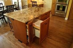 Kitchen Trash Cans Design, Pictures, Remodel, Decor and Ideas - page 4