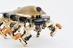 Halluc IIx un robot con patas y ruedas que se adapta al terreno