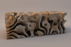 Matthew Jarvis makes beautiful sculptures, that are inspired by nature. Constantino, Macro And Micro, Sculpture Art, Stone Sculptures, Ceramic Design, Types Of Art, Design Reference, Contemporary Artists, Wood Art